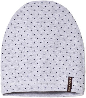 Mini A Ture Grey Blue Stars Beanie Hat