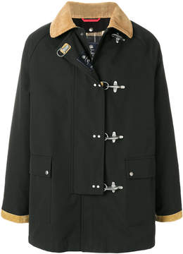 Fay oversized duffle coat