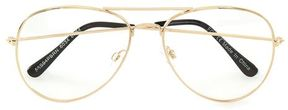 Topman Gold Aviator Framed Reader Glasses