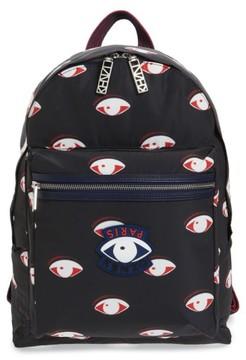 Kenzo Men's 'Eyes' Nylon Backpack - Black