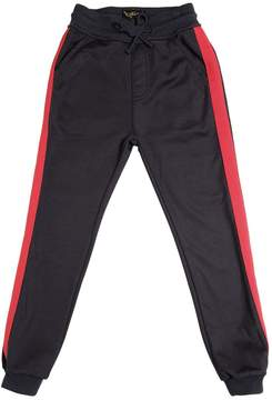Finger In The Nose Cotton Blend Striped Sweatpants