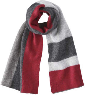 Joe Fresh Women's Colour Block Scarf, Red (Size O/S)