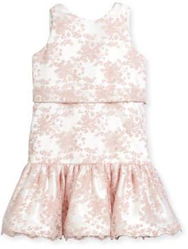 Helena Drop-Waist Lace Dress, Size 12-18 Months