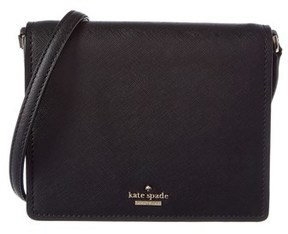 Kate Spade Dody Small Leather Crossbody. - BLACK - STYLE