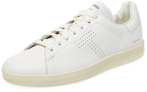 Tom Ford Men's Leaher Low Top Sneaker