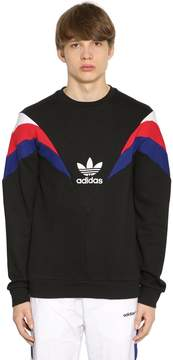 adidas Neva Patchwork Cotton Sweatshirt