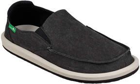 Sanuk Black Vagabonded Slip-On Shoe - Men