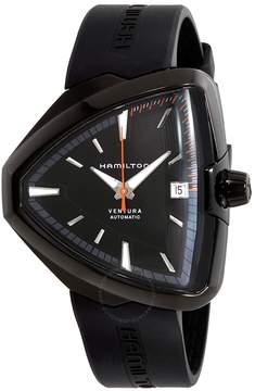 Hamilton Ventura Elvis80 Automatic Black Dial Black PVD Men's Watch