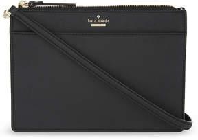Kate Spade Cameron Street Clarise Saffiano leather cross-body bag - BLACK - STYLE