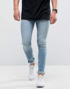 Loyalty And Faith Super Skinny Jeans in Light Blue Wash