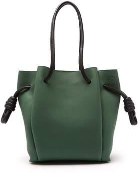 Loewe Flamenco grained leather bag
