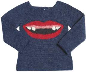 Oeuf Front Teeth Baby Alpaca Tricot Sweater