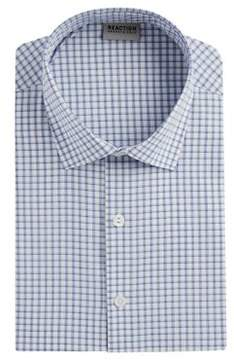 Kenneth Cole Reaction Plaid Casual Button-Down Shirt