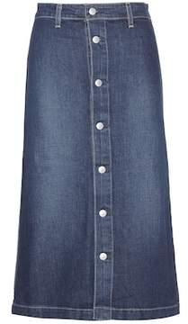 AG Jeans Alexa Chung for Cool denim midi skirt