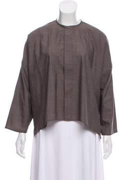 eskandar Oversize Wool-Cashmere Top