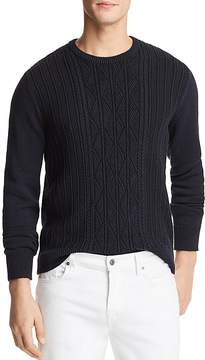 Bloomingdale's The Men's Store at Knit Twist Crewneck Sweater - 100% Exclusive
