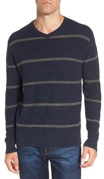 Grayers Men's Ardsley Stripe V-Neck Sweater