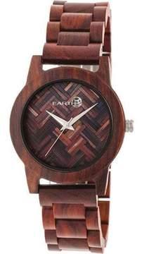 Earth Wood Crown Bracelet Watch