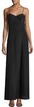 Armani Exchange Women's Solid Maxi Dress