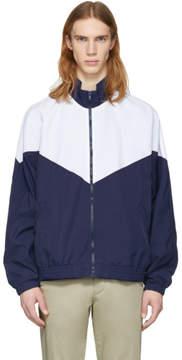Noon Goons Navy and White Mall Jogger Jacket
