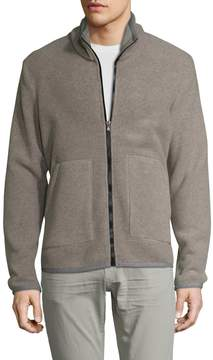 James Perse Yosemite by Men's Heavy Polar Full Zip Jacket