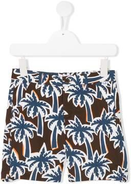 Il Gufo printed shorts