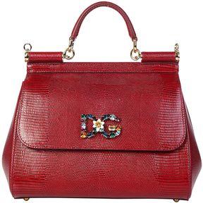 Dolce & Gabbana Sicily Handbag - RUBINO - STYLE