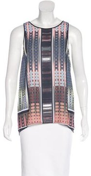 Clover Canyon Digital Print Crossover Top