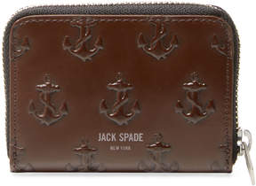 Jack Spade Men's Embossed Anchor Coin Wallet