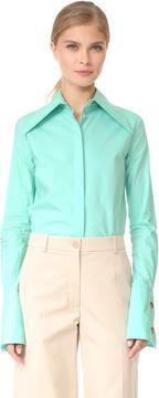 Awake Oversize Collar and Cuff Shirt
