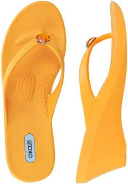 OKA b. Tangerine Kelsey Wedge Sandal - Women