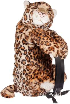 Dolce & Gabbana Leopard Shaped Backpack - NATURAL/BLACK - STYLE