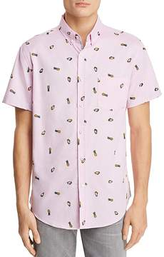 Sovereign Code Crystal Cove Pina Colada Short Sleeve Button-Down Shirt