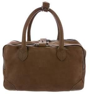 Golden Goose Deluxe Brand Pebbled Nubuck Handle Bag