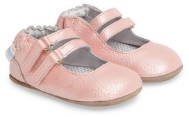 Robeez Infant Girl's Rose Mary Jane Crib Shoe