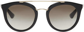 Prada Black Pantos Sunglasses