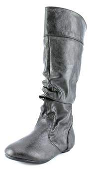 Kenneth Cole Reaction Swing Time 2 Youth Synthetic Black Knee High Boot.