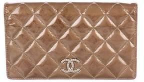 Chanel Patent Yen Wallet