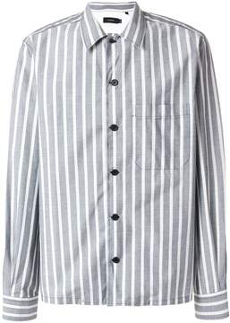 Joseph striped button down shirt