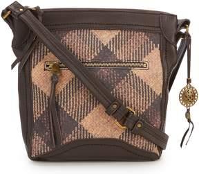 The Sak Collective Tahoe Plaid Cross-Body Bag