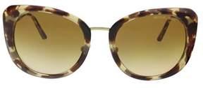 Michael Kors Mk2062 33232l Tokyo Tortoise Cat Eye Sunglasses.