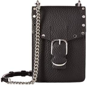 Rebecca Minkoff Biker Phone Crossbody Cross Body Handbags - BLACK 1 - STYLE