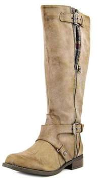 G by Guess Hertle 2 Wide Calf Women Round Toe Synthetic Gray Knee High Boot