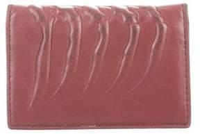 Alexander McQueen Skeletal Leather Wallet