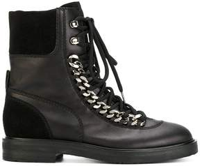 Casadei chain-trimmed City Rock boots