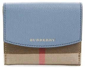 Burberry Women's Luna French Wallet - Blue - BLUE - STYLE
