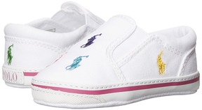 Polo Ralph Lauren Kids - Bal Harbour Repeat Soft Sole Girl's Shoes