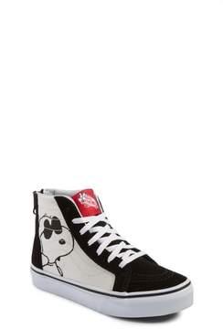 Vans Toddler X Peanuts Sk8-Hi Sneaker