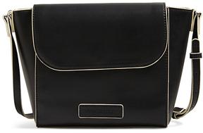Vera Bradley Black Flap Crossbody Bag - BLACK - STYLE