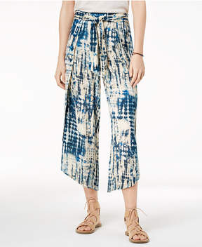 American Rag Juniors' Printed Open-Seamed Soft Pants, Created for Macy's
